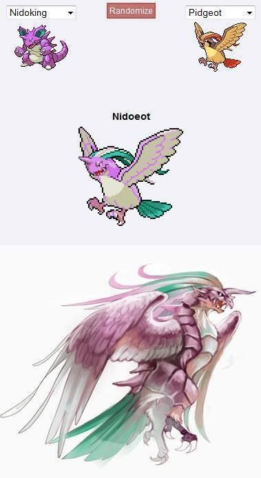 This is possibly the most badass pokemon fusion ever!