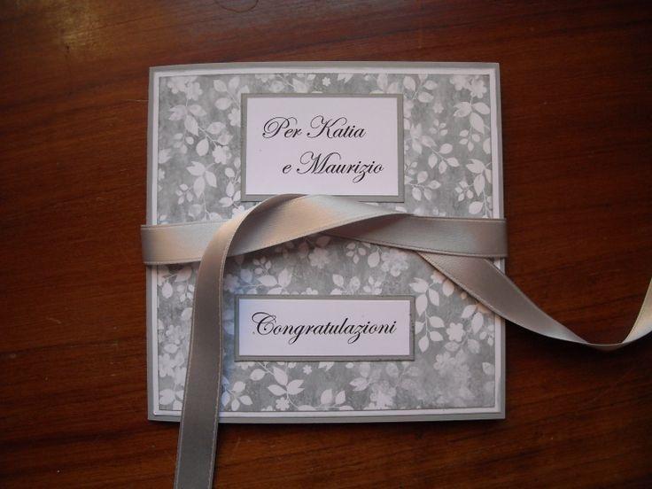 biglietto per un matrimonio portasoldi 1