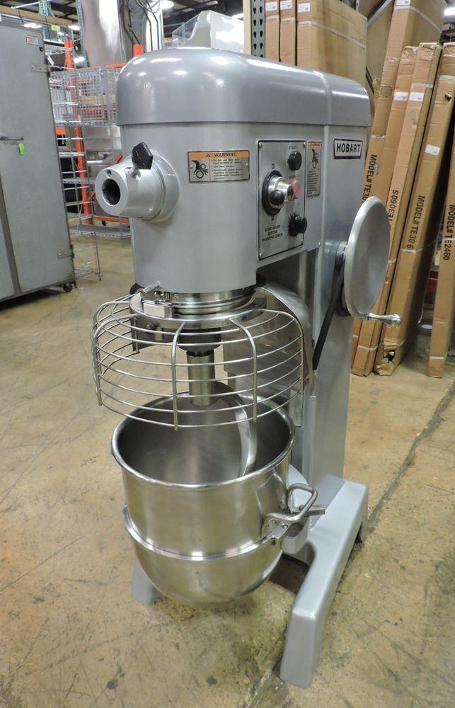 Hobart D340 Commercial 40 Qt Dough Mixer Hobart Used Restaurant Equipment Restaurant Equipment Mixer