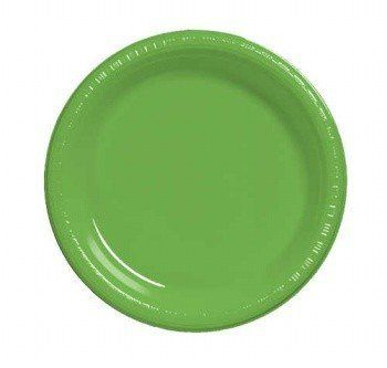 """Citrus Green 7"""" Luncheon Plate Plastic Solid 240ct by Creative Converting. $38.28. Bulk by the Case, Citrus Green 7"""" Luncheon Plate Plastic Solid 240ct. For each case you will receive 12 individual packages that contain 20ea. Great for large Birthday Parties, Church Events, Sporting Events, Company Parties, Charity Events and more! You save big when you buy by the case!. Save 48% Off!"""