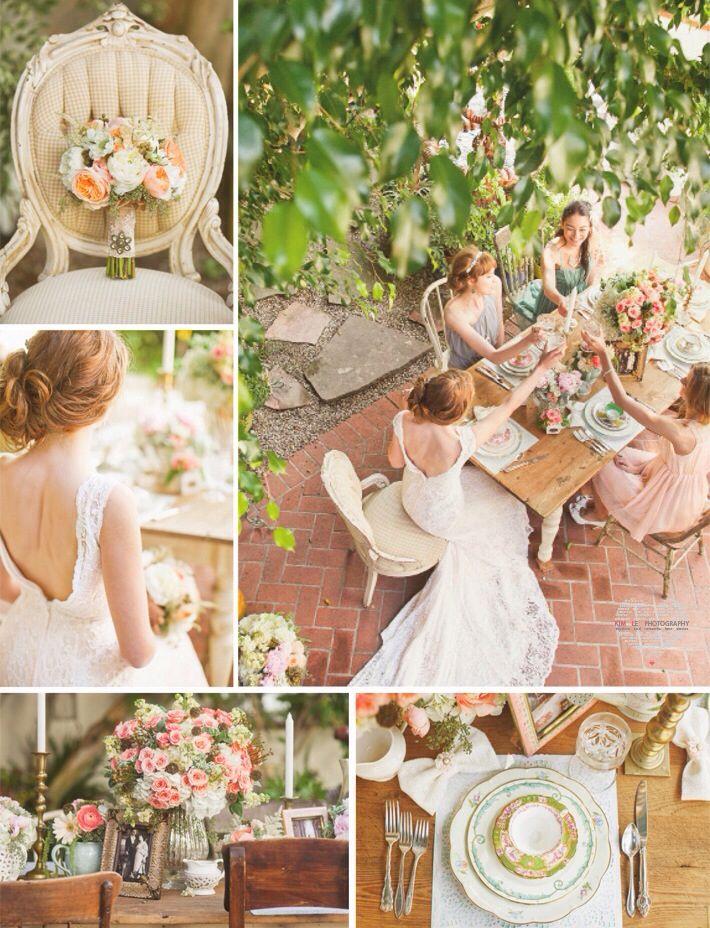 #vintage #tea #party #wedding