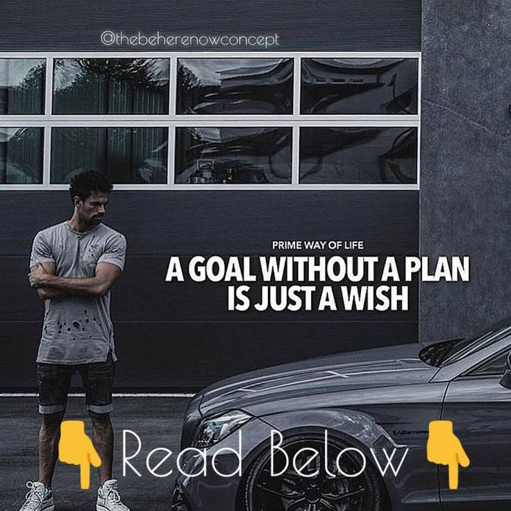 Respect your goals.  Goals = Dreams. The image talks by itself its necessary to set a plan.  The truth is that maybe your first plans sucks but those will be the beginning of a new whole life so I wanna ask to you What about now?  The really important key here is to fail a lot of times (the number is no important) and get better in failure.  So if you want to set a plan a will give you three tips:  1. Set a goal achievable you must be realistic and optimistic in the same time.  2. Make a…