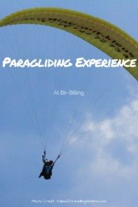 Paragliding in India.  Looking for something adventurous to do in India?  Look no further! #paragliding #india #indiatravel