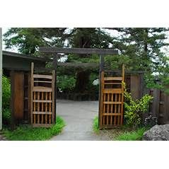 Laney College's Japanese Hand Tools II Class: Japanese Garden Gate ...