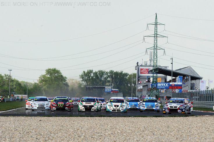 Second race start