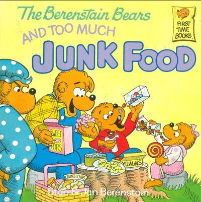 Berenstain Bears: Junk Food.  One of my faves growing up!