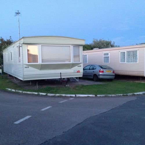 Simple Static Caravan For Hire On Presthaven Beach Resort Prestatyn North