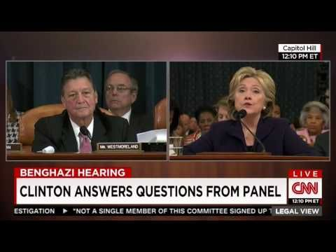 Hillary Clinton: Chris Stevens didn't have my personal email address - YouTube