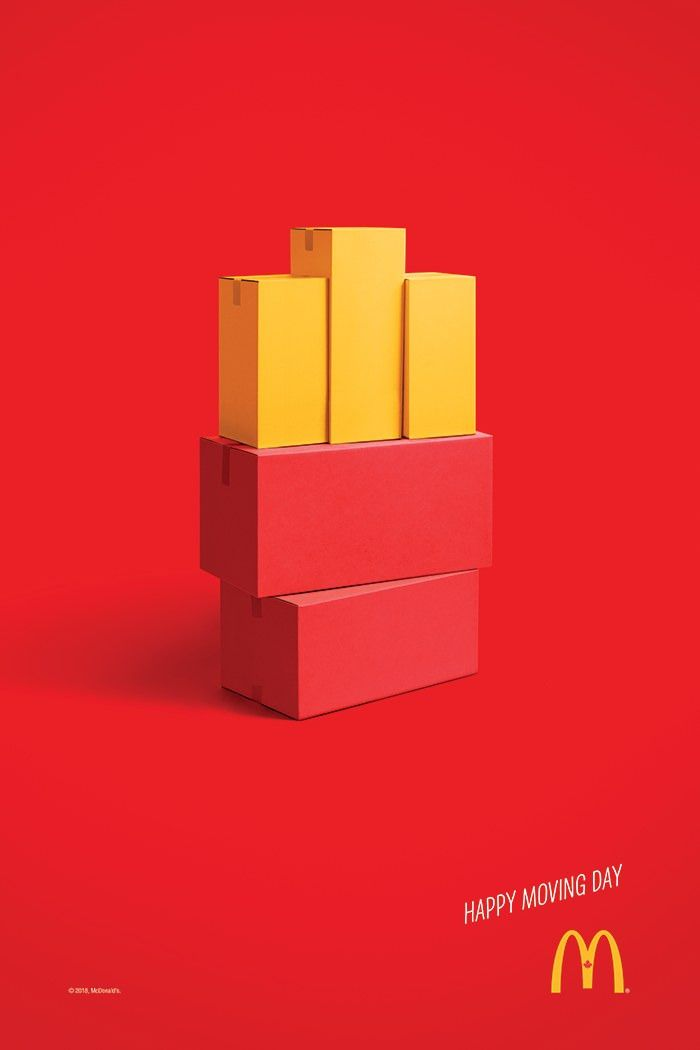 Cossette X Mcdonalds Canada Happy Moving Day Ads Creative Creative Advertising