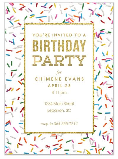 22 best digital invitations evites ecards images on pinterest sprinkles birthday by renee pulve of smudge design from celebrations awesome evites your guide filmwisefo