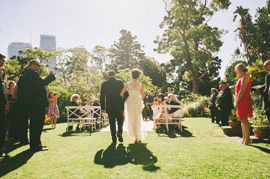 Nicky and Van's Sydney Botanic Gardens Wedding