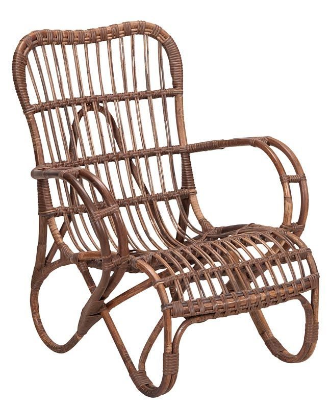 Leuke rotan stoel