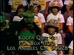 King Koopa's Kool Kartoons - a local, American live-action children's show broadcast in Southern California during the holiday season of 1989-'90. Produced by DIC Entertainment and in association with Nintendo, the show starred King Koopa (based on Bowser), the central arch-villain from the Mario video game series. The 30-minute program was originally broadcast during late afternoon time slots on Los Angeles-based KTTV Fox 11. It was a spin-off to The Super Mario Bros. Super Show! The show…
