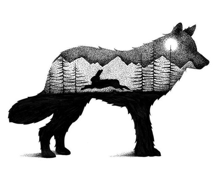 dessins-en-pointillisme-et-double-exposition-de-Thiago-Bianchini-10