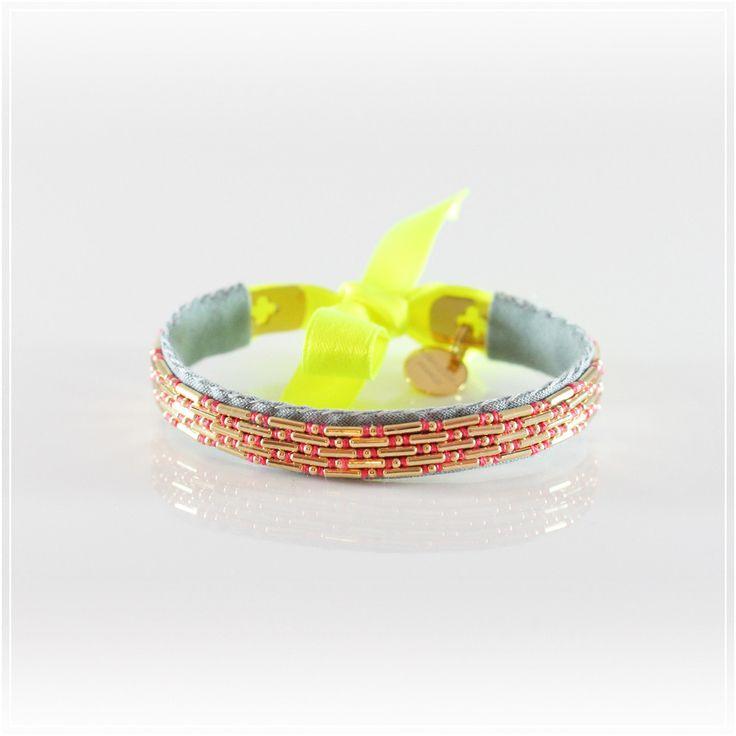Bracelets Mary / Jaune
