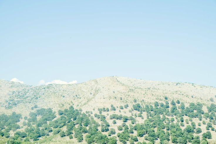 Hillside in Albania #travel #landscape #adventure #Albania