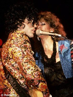 Engaged: Prince proposed to Sheila E live on stage during a performance of Purple Rain years later, and she said yes