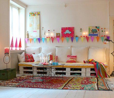 Paso a paso c mo hacer un sof de palets de forma sencilla for Sofa cama de madera reciclada