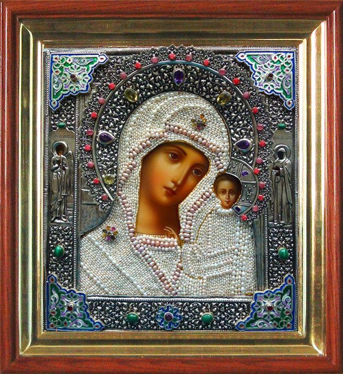 янтовская мария иконы казанской фото