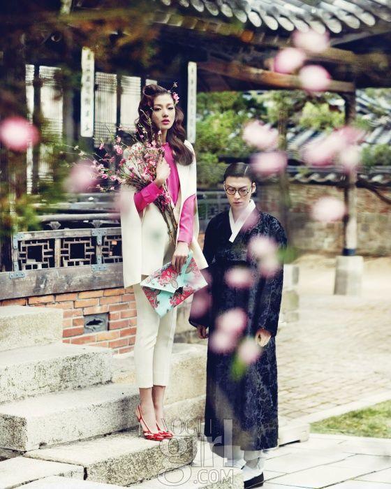 한옥에서 만난 소년과 소녀 :: Vogue Girl