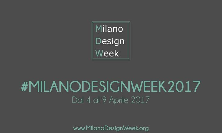 Ci siamo quasi! Dal 4 al 9 Aprile Milano ospita la #milanodesignweek2017 . . . #mdw #mdw17 #mdw2017 #MILANODESIGNWEEK #milanodesignweek2017 #milanodesignweek #milandesignweek17 #milanodesignweek2017
