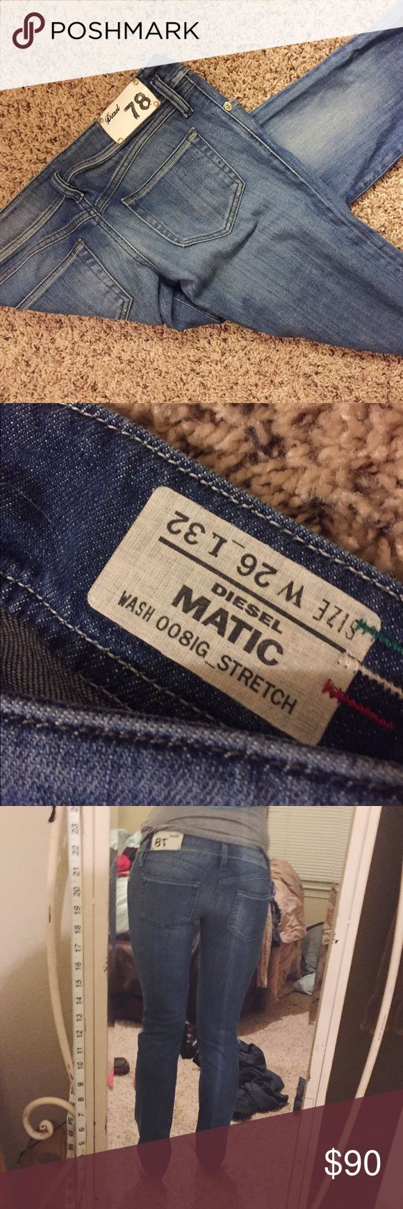 Selling this Diesel Jeans Women Matic 008IG Skinny on Poshmark! My username is: elliemaryb. #shopmycloset #poshmark #fashion #shopping #style #forsale #Diesel #Denim