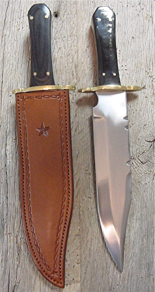 Cowboy Knives, Leather Knife Sheaths, Bowie Knives | Old West Leather, Buckles, Cowboy Holsters, Custom Western Belts