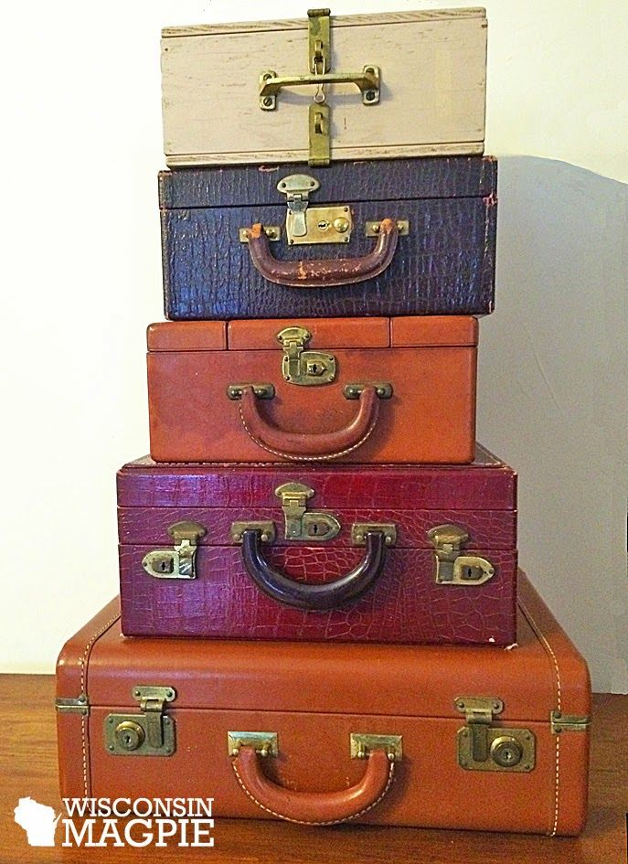 112 best i love vintage suitcases images on Pinterest | Vintage ...