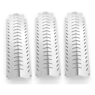 Grillpartszone- Grill Parts Store Canada - Get BBQ Parts, Grill Parts Canada: Coleman Heat Shield | Replacement 3 Pack Stainless...