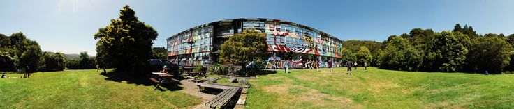 The Learning Connexion School of Art and Creativity: Taylor Building in panorama.