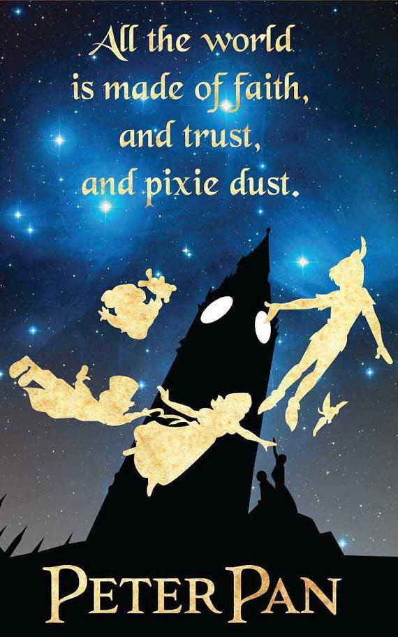 Alle Welt Peter Pan / Disney inspiriert von FADEGrafix auf Etsy