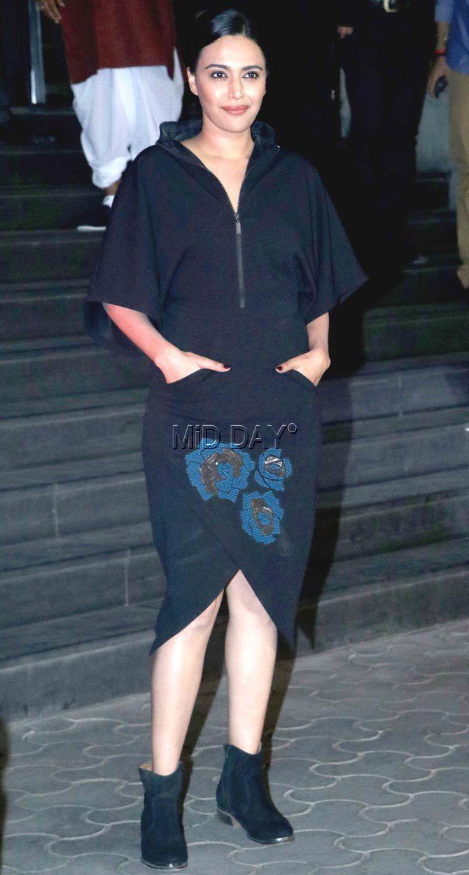 Swara Bhaskar at #Dangal screening. #Bollywood #Fashion #Style #Beauty #Hot #Sexy