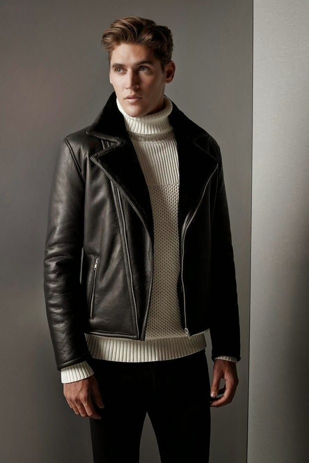 Isaac Carew for Reiss Fall Winter 2014