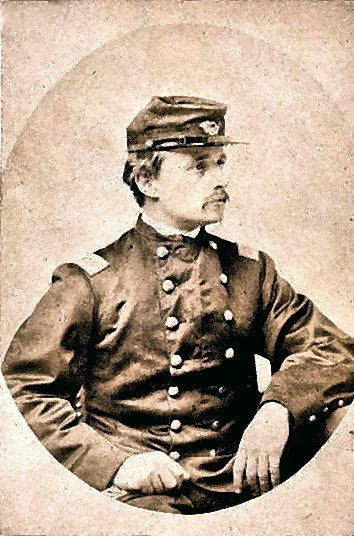 Colonel Robert Gould Shaw - As Colonel, he commanded the All-Black 54th Massachusetts Infantry Regiment, which entered the war in 1863.  He was killed July 18th, 1863, at 26 years old, in the Second Battle of Fort Wagner, near Charleston, South Carolina.