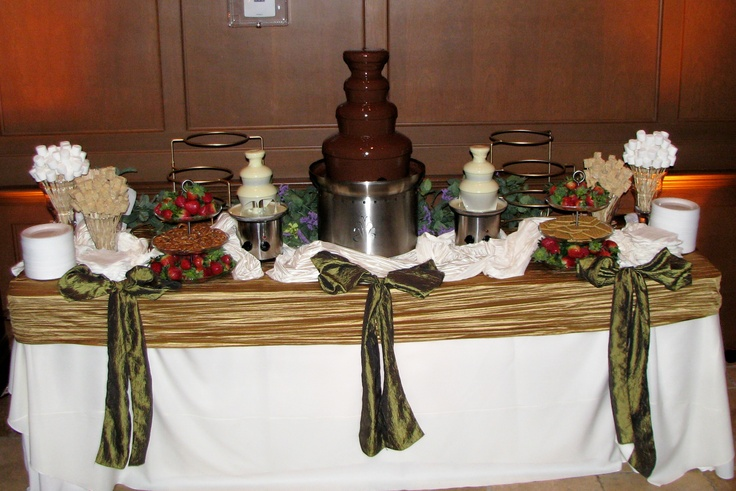 Pin by Neil H on Chocolate Fountain Ideas/Display | Pinterest