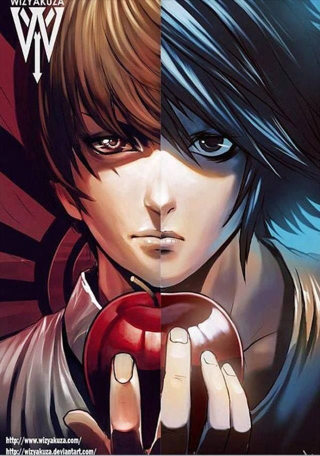 Death Note - L and Yagami Light