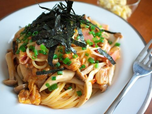 hummm, delicious......: Mixed Vegetables, Seafood Pasta, Food Pasta Noodles, Chinese Style, Cooked Foodist, Foods Drinks Recipes, Food Drink, Vegetable Pasta