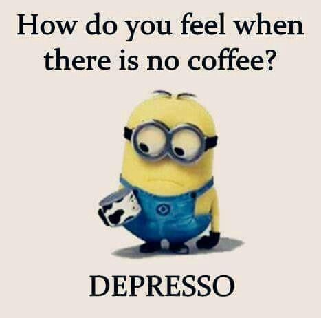 Haha love my coffee!