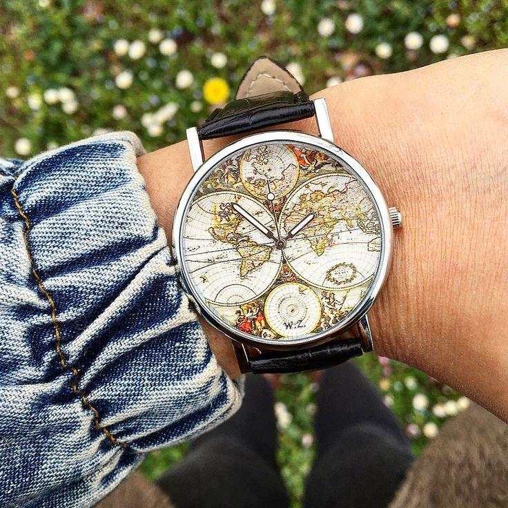 orologio con il mondo