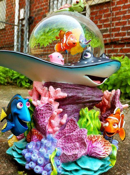 disney snow globes   Disney Nemo Snowglobe by ~Reaksmey on deviantART