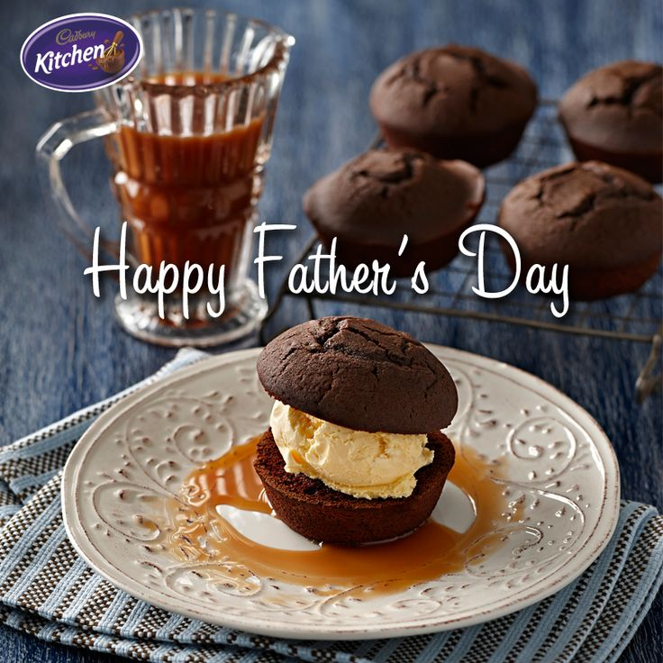 """The way to a man's heart is through his stomach."" Celebrate #FathersDay in sweet style with a deliciously decadent Dad-themed #dessert. #whisky #cakes #BournvilleCocoa. To find out more about #CADBURY #BournvilleCocoa visit https://www.cadburykitchen.com.au/products/view/bournville-cocoa/"