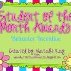 I created these awards as a way to help motivate students to use appropriate behavior. Each month you can focus on a specific character trait/socia...