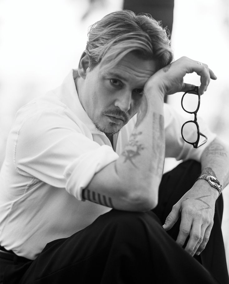 Interview April 2014 : Johnny Depp by Bruce Weber - the Fashion Spot