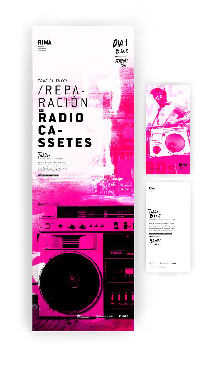 Federico Molinari – Rima / Festival de hip hop alternativo, Cátedra Gabriele, FADU/UBA, Buenos Aires, 2013