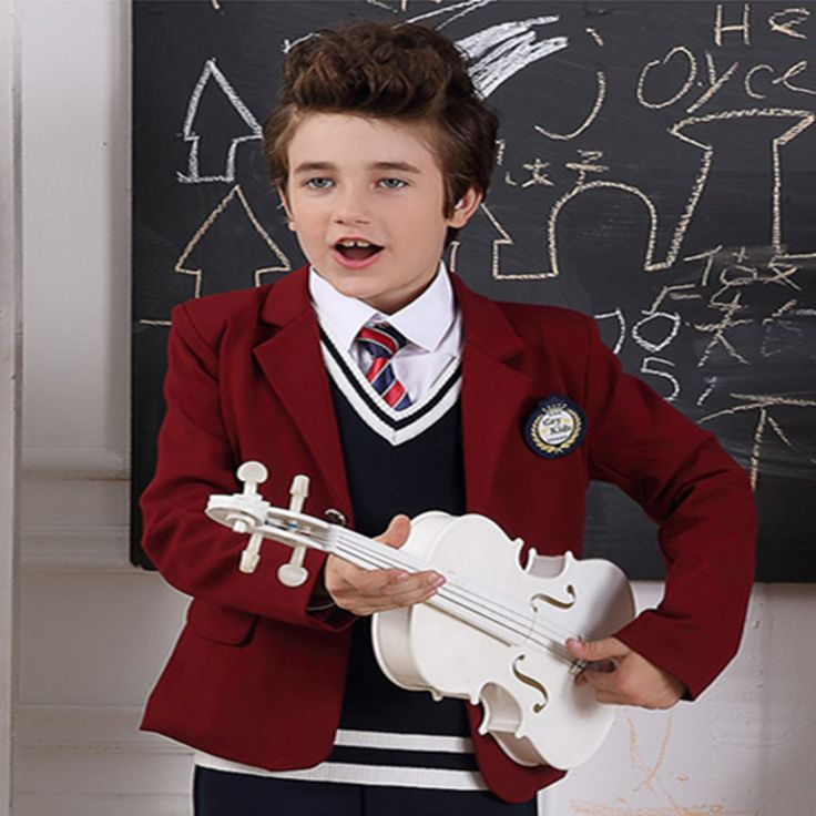 Boy Suits  Kids School Uniform Outerwear Clothes Child Leisure Coat 100% Cotton Children Clothing high fashion Gentleman Jackets