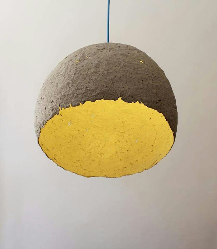globe paper pulp pendant lamp paper pinterest. Black Bedroom Furniture Sets. Home Design Ideas