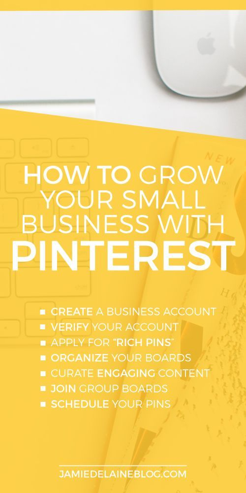 Using Pinterest For Your Small Business jamiedelaineblog....
