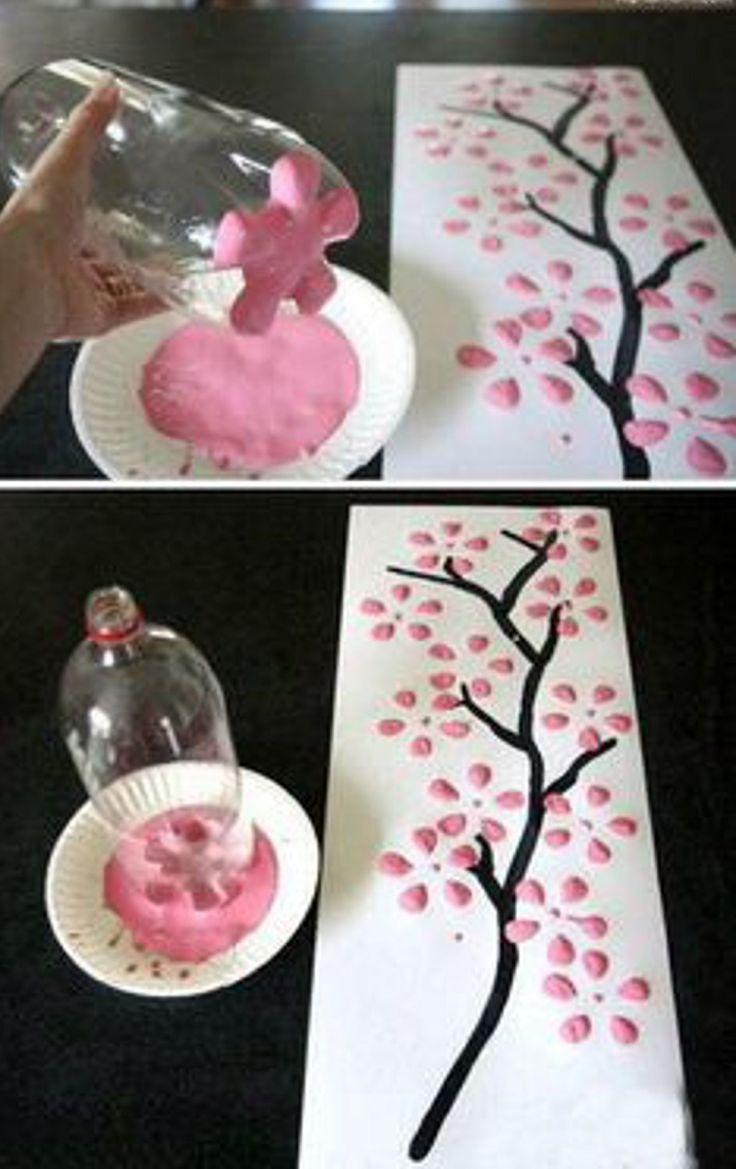 Creaciones de botellas de plástico