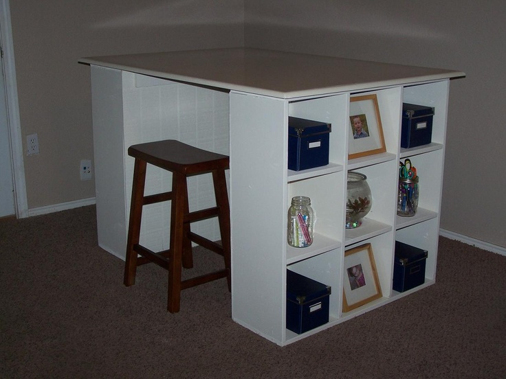 Build A Cubby Bookcases Modular Office Collection   Free And Easy DIY  Project And Furniture Plans   Bjl