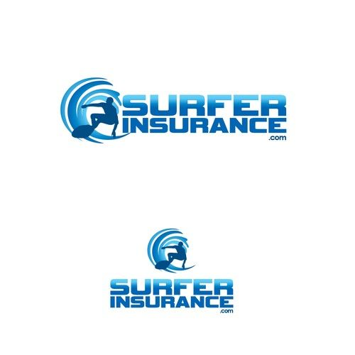 SurferInsurance.com �20Create logo for suferinsurance.com An Insurance Agency for surfing companies